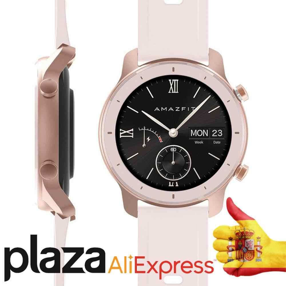 Versión Global Amazfit GTR reloj inteligente 42mm GPS 5ATM impermeable 24 días batería Xioami Reloj inteligente para Android IOS