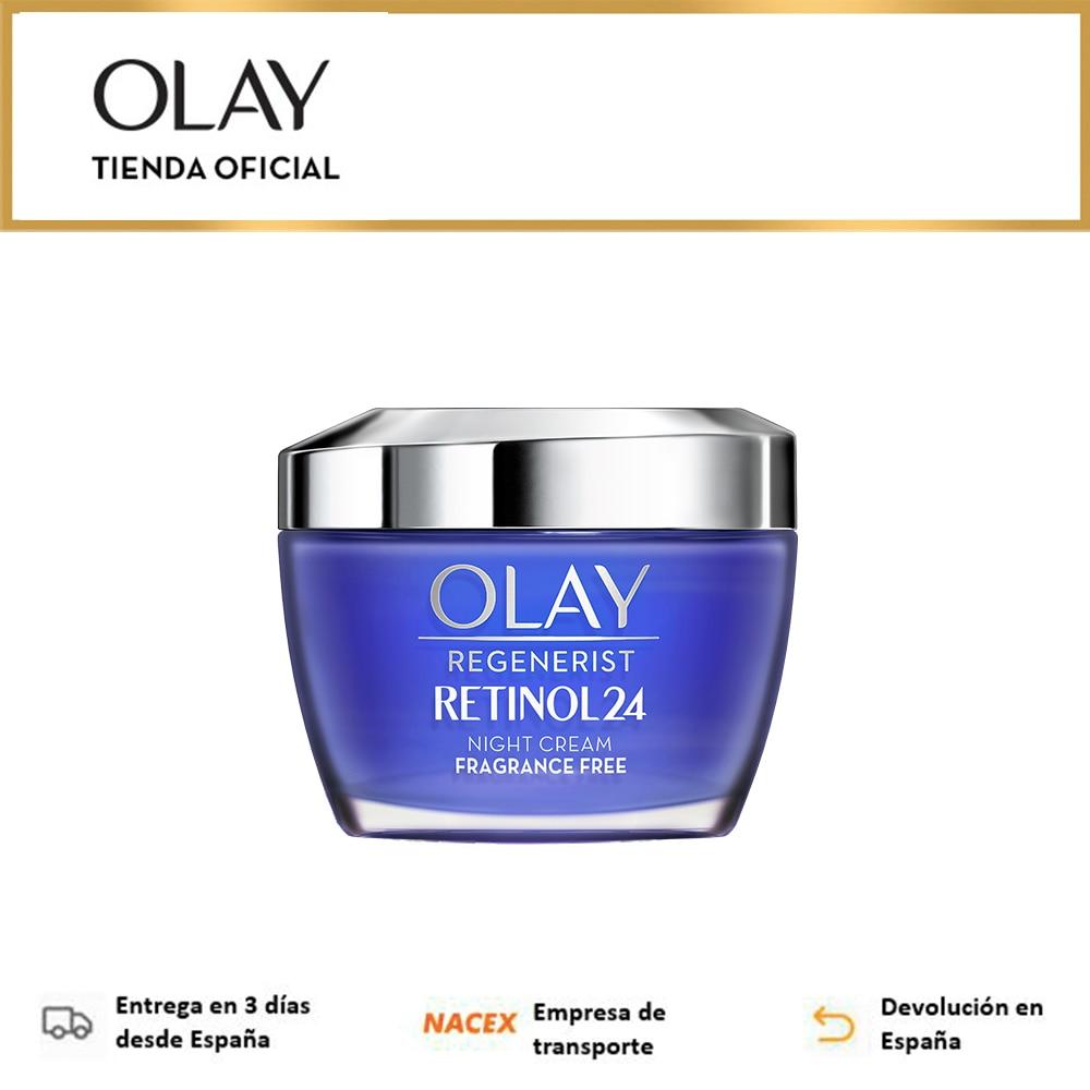 Olay Regenerist Retinol24, Crema Hidratante De Noche 50ML, Anti Edad, Retinol Y Vitamina B3, Sin Fragancias, Cremas y Lociones|Crema solar facial| - AliExpress