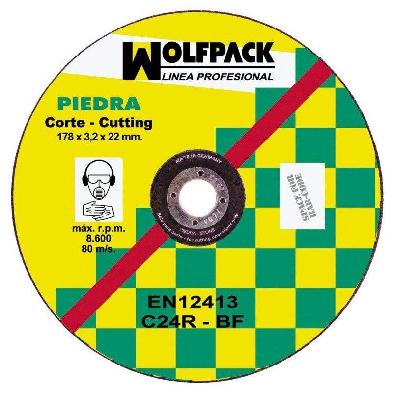 Cutting Disc Abrasive Stone 178x3,2x22mm.
