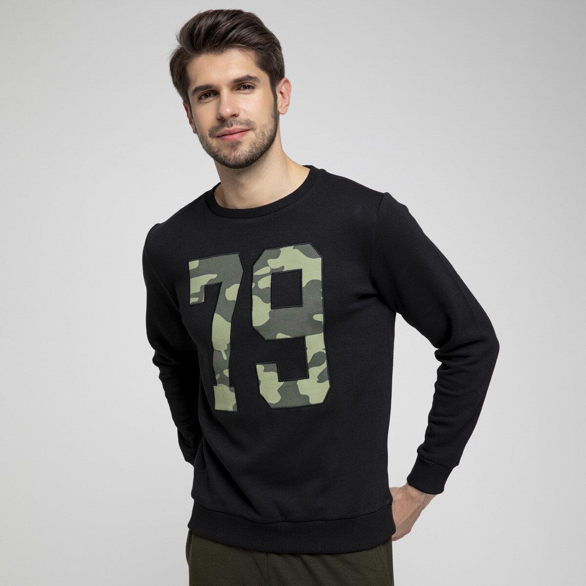 FLO THOR 2 SWEAT Black Men 'S Sweatshirt LUMBERJACK