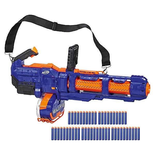 Бластер Nerf Elite Титан|Игрушечное оружие|   | АлиЭкспресс