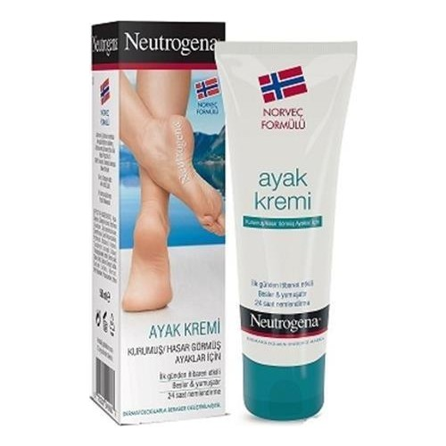 Neutrogena Norwegian Formula Foot Cream For Dried Feet 50 Ml