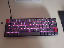 Love it! it has great rgb light effects, and the typing experience is amazing!. The materi