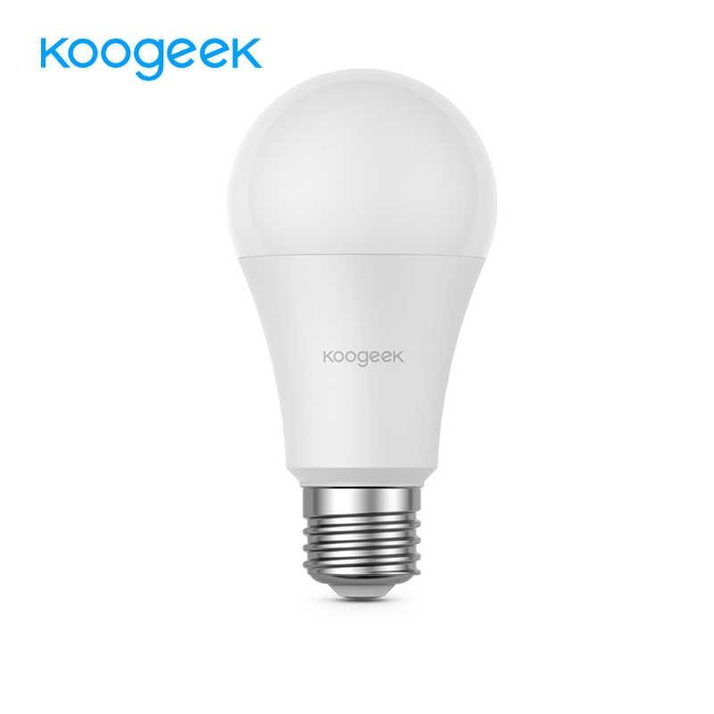 Koogeek Thông Minh 7W ĐÈN LED Trắng Wifi Bóng Cho Alexa Apple HomeKit và Google Trợ Lý Điều Khiển Giọng Nói ỨNG DỤNG từ xa 560LM 3000K