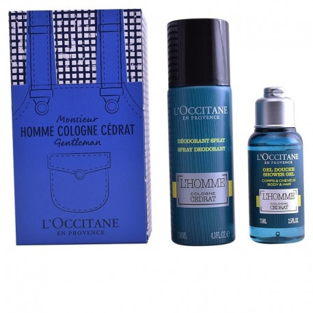 CEDRAT EAU DEODORANT SPRAY 130ML + SHOWER GEL 75ML