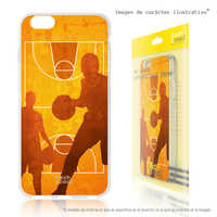 FunnyTech®Stand case for Sony Xperia XA1 Silicone Sports Basketball field