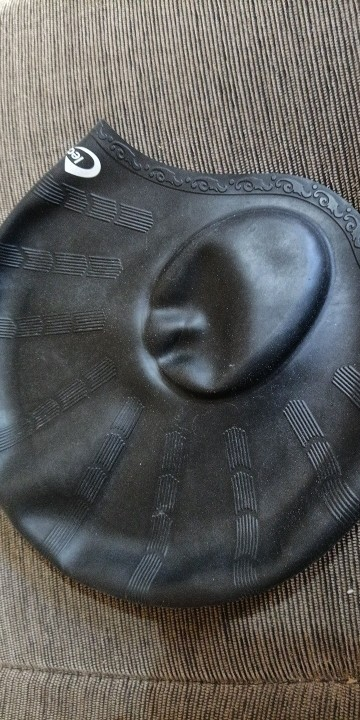 Waterproof Silicone Swimming Cap photo review