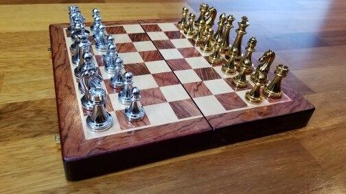 Jogos de xadrez Madeira Sólida Conjunto