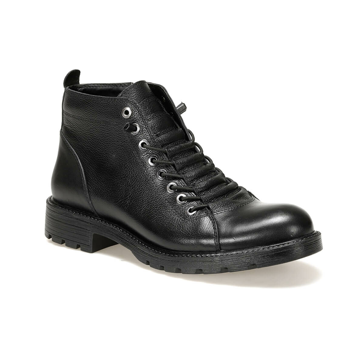 FLO 013-1 Black Men Boots Oxide