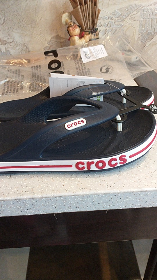 CROCS Bayaband Flip UNISEX for male, for female, man, woman TmallFS shoes-in Slippers from Shoes on AliExpress