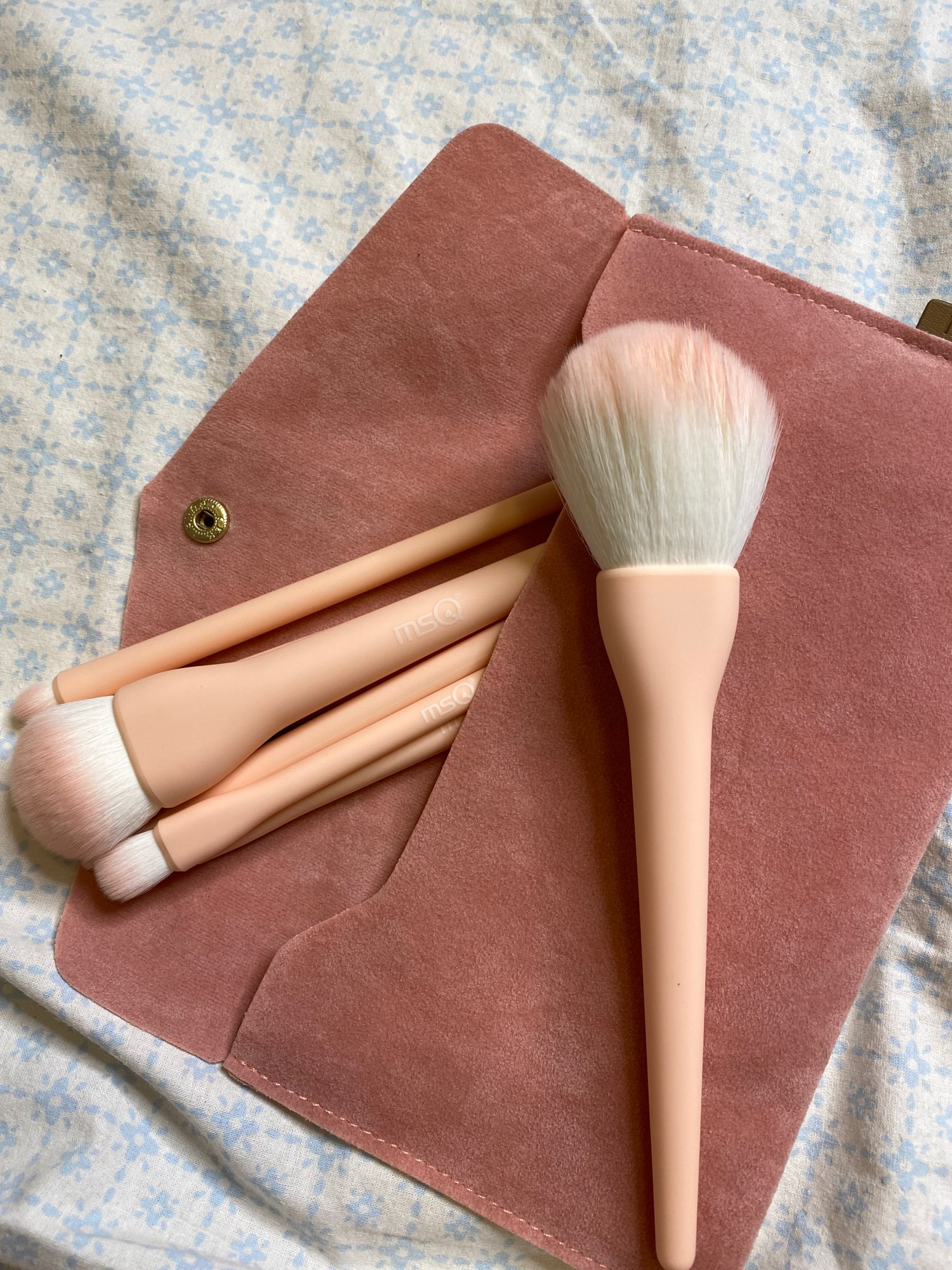 8PCS Makeup Brushes Sets Powder Foundation Blusher Eyeshadow Brush Candy Cosmetic Colorful Make Up NO MSQ LOGO With Bag reviews №2 223978