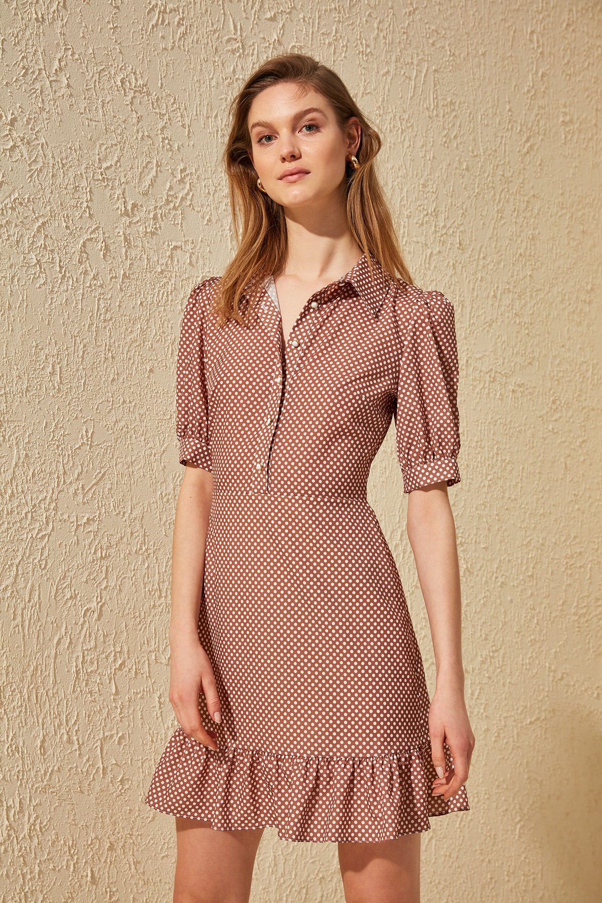 Trendyol Polka Dot Dress TWOSS20EL0233