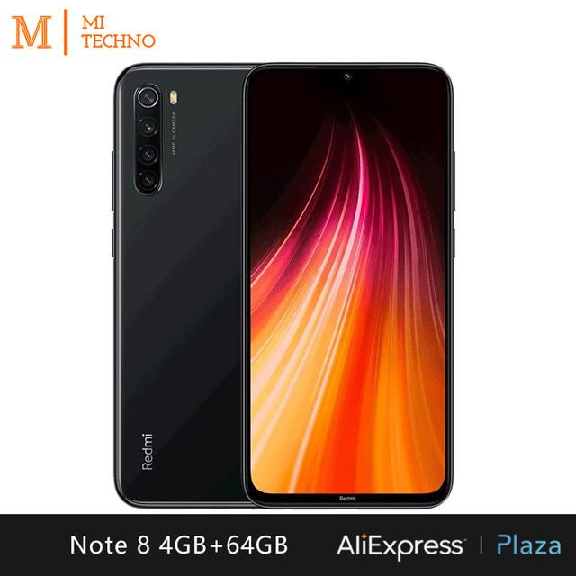 Xiaomi Redmi Note 8 Smartphone(4GB RAM 64GB ROM Free mobile phone new cheap android 4000mAh battery) [Global Version] 3