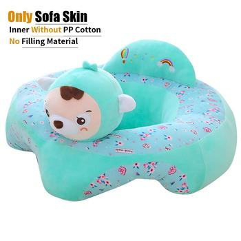 28 style Comfort Support Chair  Color Loss Baby Loss baby seat for for Learning Sit Infant Sofa Seat Cover Delicate Feel No Hair - Spain, 1