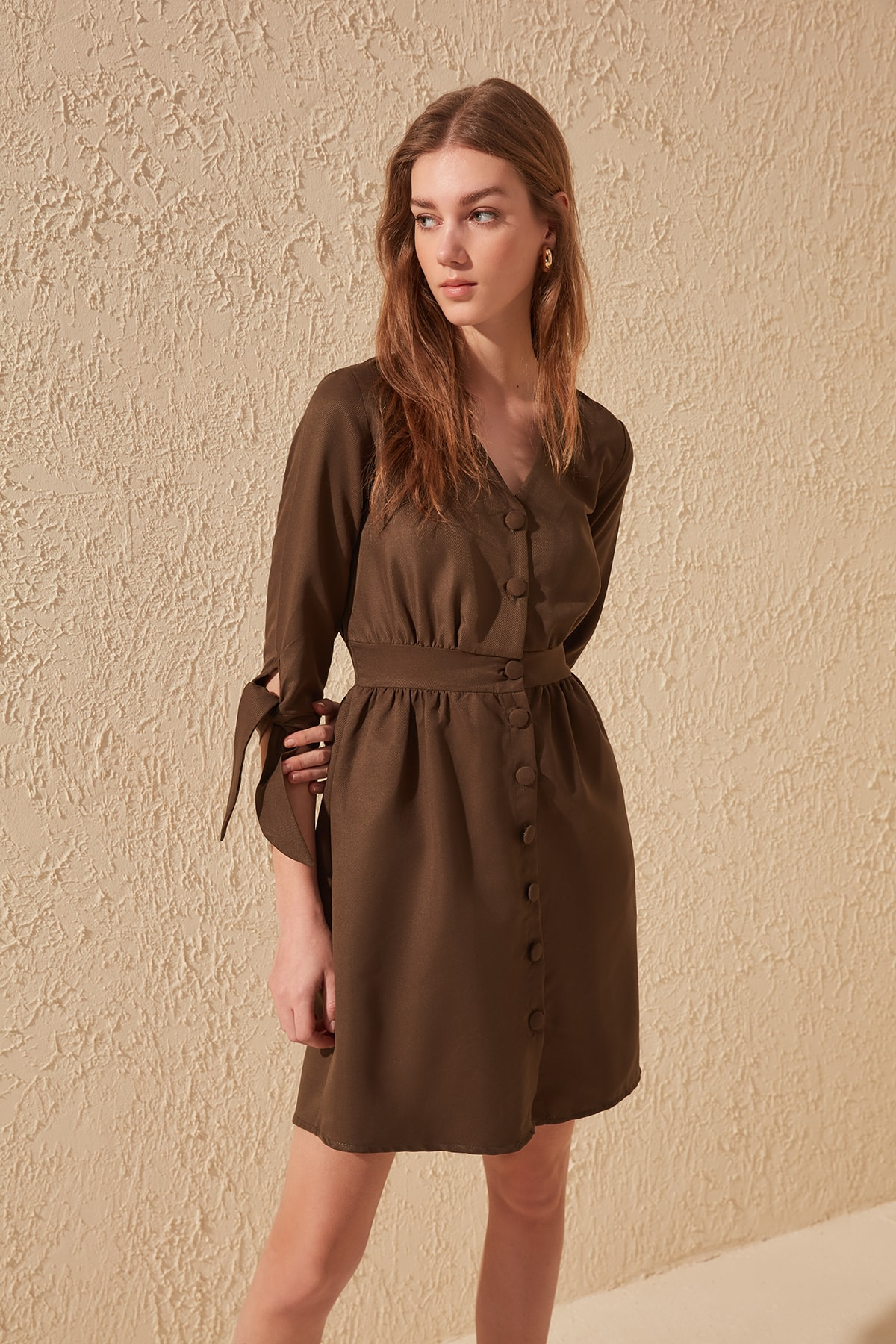 Trendyol Button Dress TWOSS20EL0139