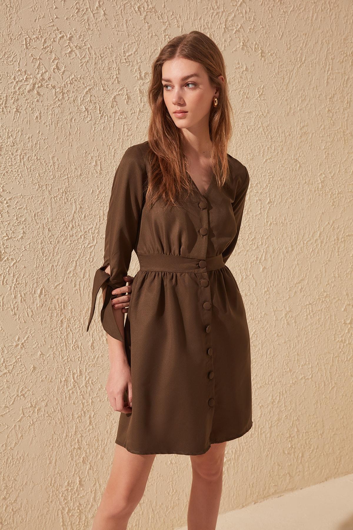 Trendyol Button Dress TWOSS20EL0139