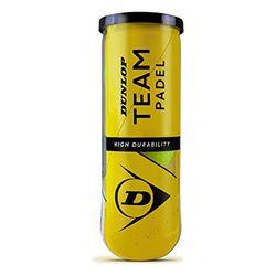 Padel Balls Dunlop Tb Team (3 шт.)