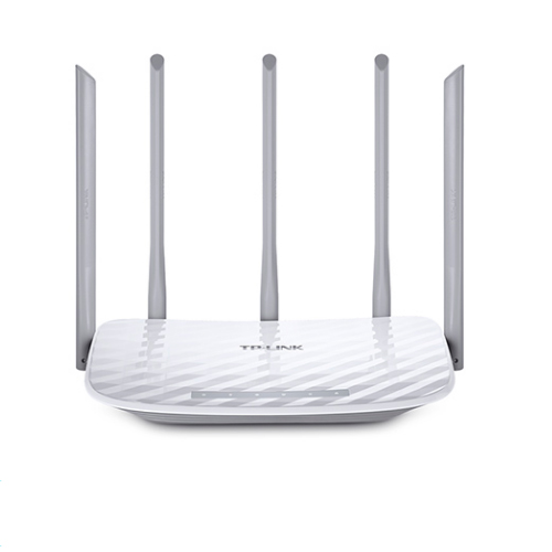 Router WiFi Dualband TP Link Archer C60 Ac1350 450 MB In 2,4 GHz AND 867 MB In 5 GHz 4 P ETH 5 Antennas Fixed