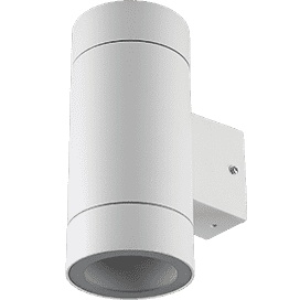 Ecola Gx53 Led 8013a Overhead Lamp IP65 Cylinder Metal. 2 * Gx53 White Matte 205x1 Fw53c2ech