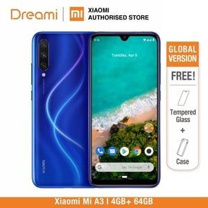 Image 1 - النسخة العالمية شياو Xiaomi mi A3 64GB ROM 4GB RAM (الرسمية) mi a364gb