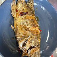 香辣臭鳜鱼,一道需要戴口罩做的菜的做法图解11
