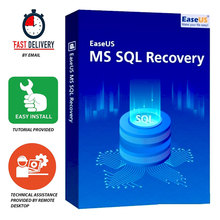 EaseUS MS SQL Recovery ✅ Life Time Licence | PC |