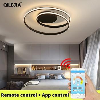 Modern LED Ceiling Lights For Living Room Bedroom Study Room White /black color surface mounted Ceiling Lamp 1
