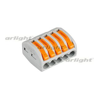 025724 Terminal 222-415 (3 Wire 2.5mm) [plastic] Box 40 Pcs ARLIGHT Led Tape Accessories Connected...