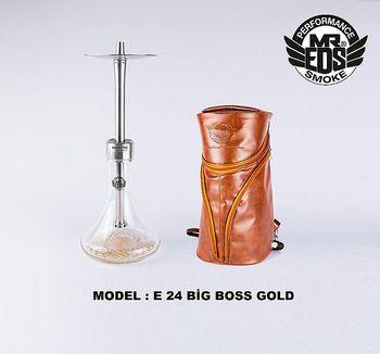 MR. EDS-Cachimba de acero inoxidable con bolsa de cuero, pipa de fumar de aleación con melaza, E35, Bigg Boss Pro, Sisha, cachimba boquilla shisha cachimba shisha completa cazoleta accesorios gestor de calor shisha
