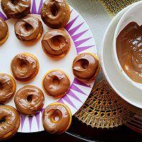 """#美食说出""""新年好""""#巧克力甜甜圈的做法图解8"""