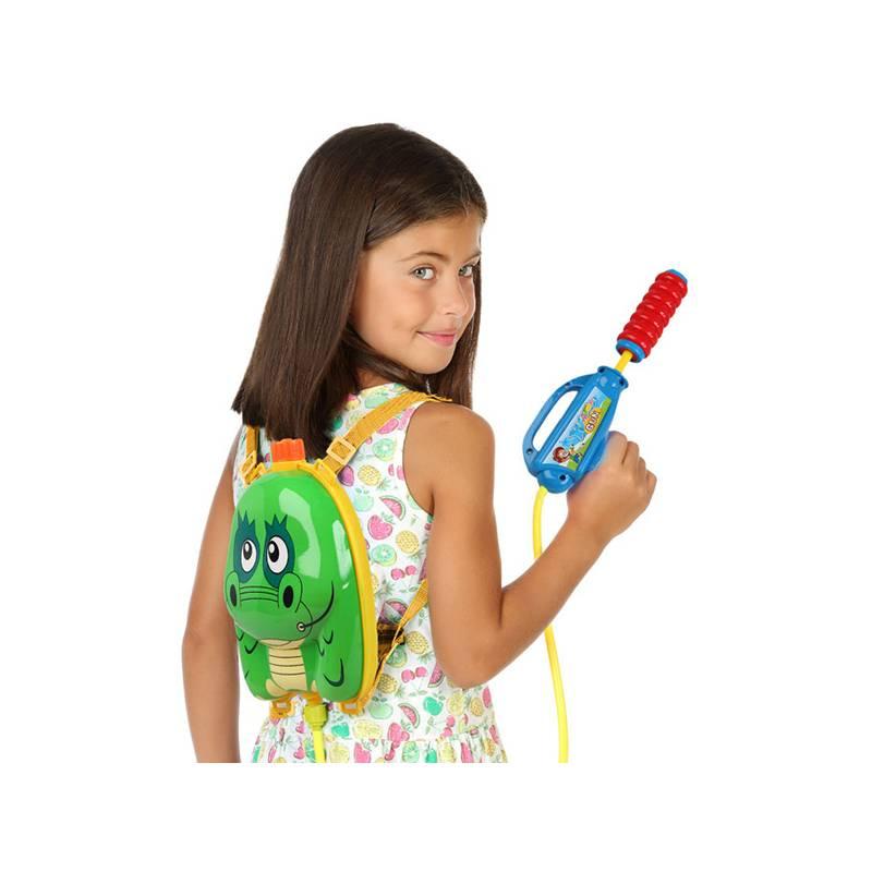 Water Gun With Backpack Deposit (24x20 Cm) Crocodile