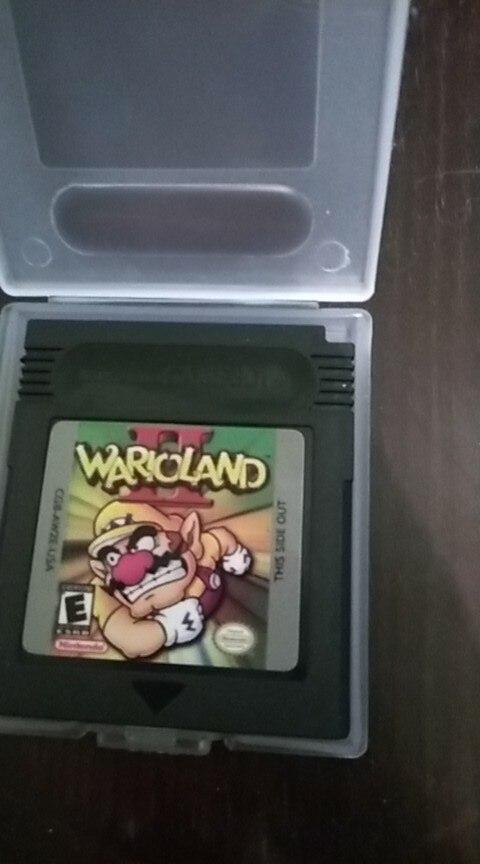 For Nintendo GBC Video Game Cartridge Console Card Wari Land 2 English Language Version photo review