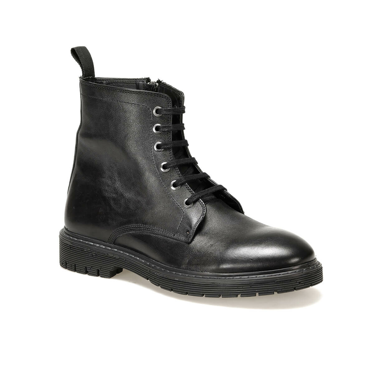 FLO 409-1 Black Men Boots Forester