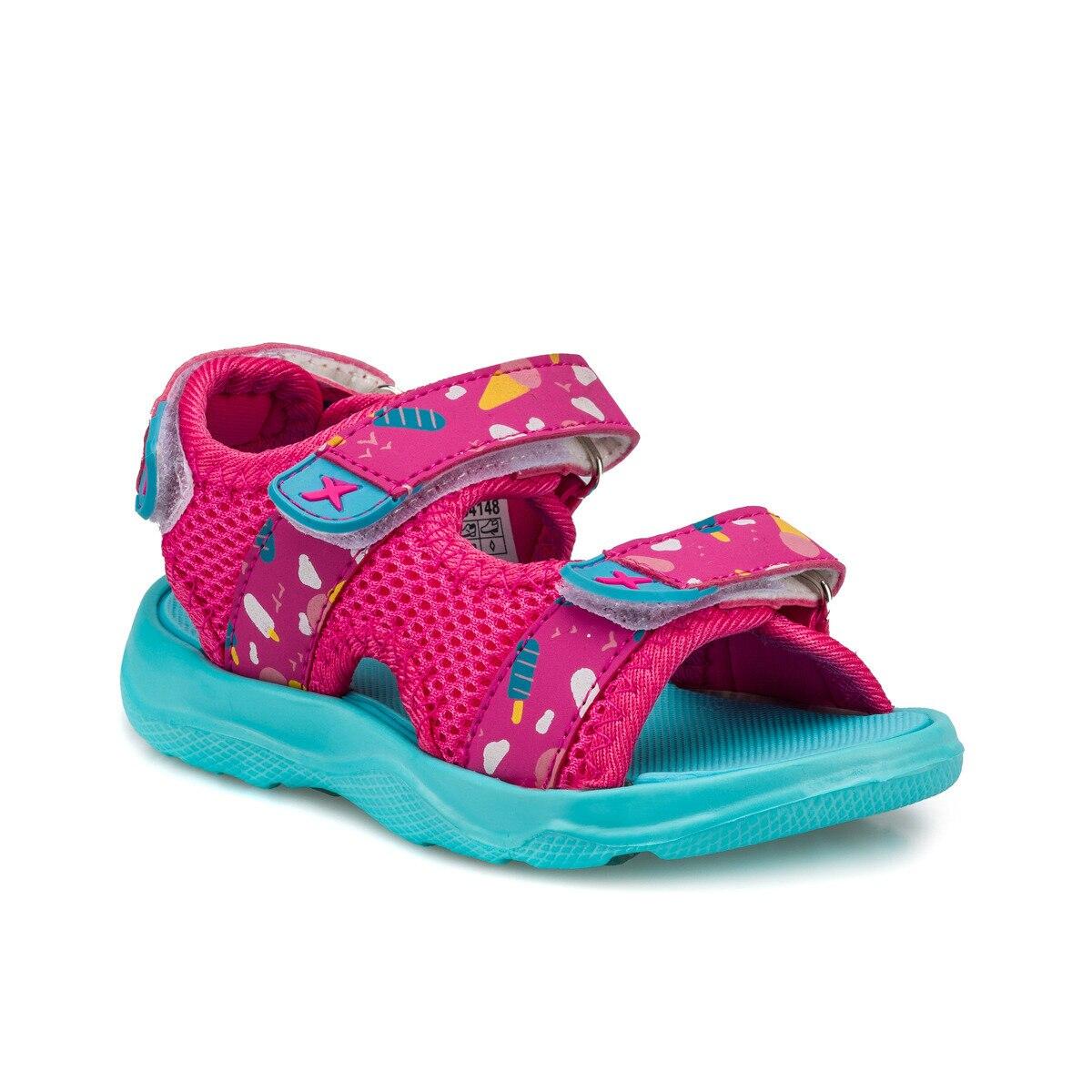 FLO VIOLI Fuchsia Girls Child Sandals KINETIX