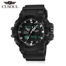 Cusoul Men Watches 30M Waterproof Watches Digital W