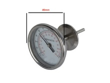 """1,5 """"OD50.5mm Tri clamp Thermometer met aanpassing 0"""