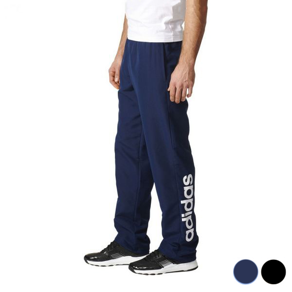 Adult's Tracksuit Bottoms Adidas Ess Lin Stanfrd