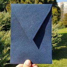 50pcs / lot Gilda Navy Blue Envelopes 140mmX200mm Patterned Paper Envelopes Card Postcard Envelope Colorful Greeting Cards