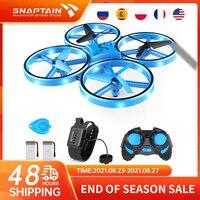 SNAPTAIN-Mini Dron SP300 teledirigido para niños, teledirigido cuadricóptero operado a mano, helicóptero de juguete con volteretas 3D, modo sin cabeza, mantenimiento de altitud