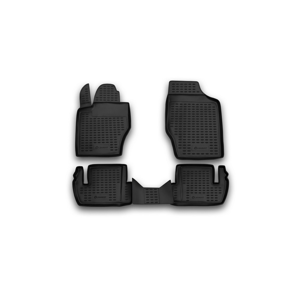 Floor mats for PEUGEOT 307 2001 2008 > 4 PCs NLC.38.02.210k|  - title=