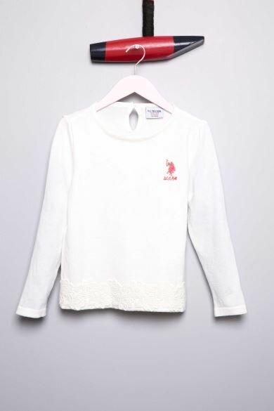 U.S Polo Assn Girls Cardigan Sweater