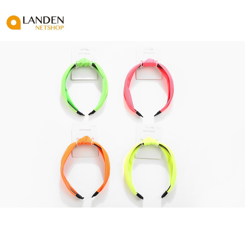 Trendy Headband Spring Summer Fluor Neon For Women