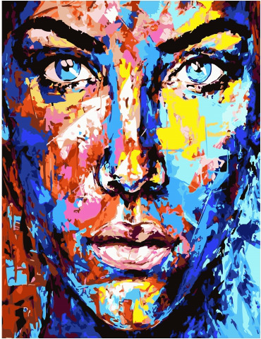Painting By Numbers GX 34462 Paint Life 40*50