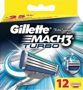 ORİGİNAL Gillette Mach3 hombres cuchillas de afeitar-12 recambios