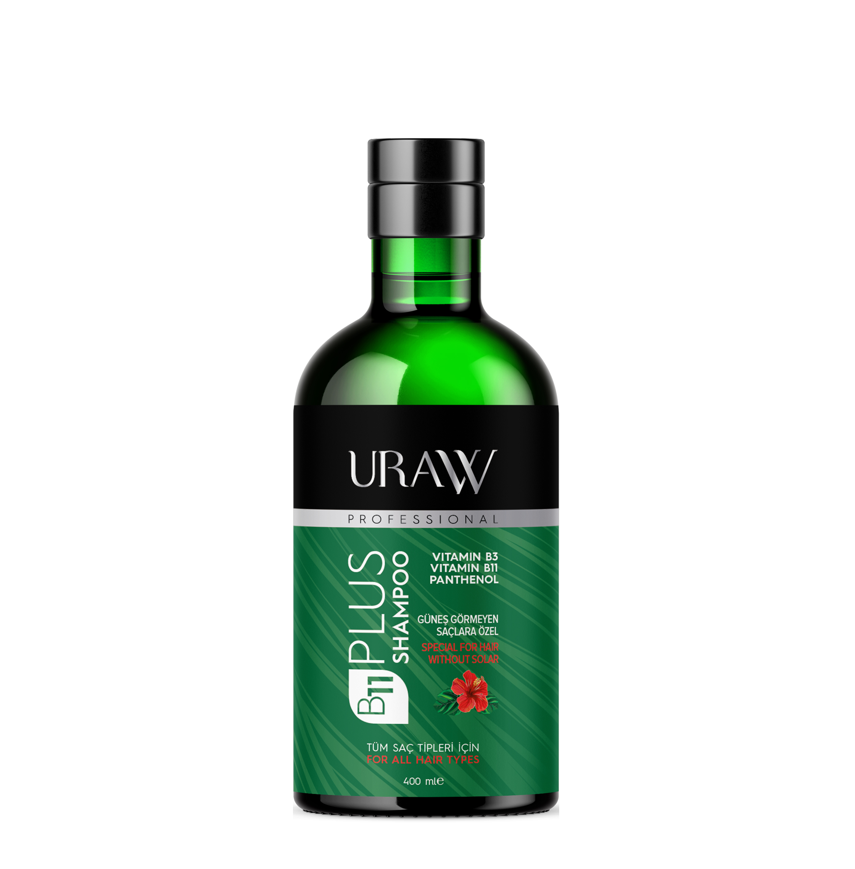 URAW B11 PLUS HAIR SHAMPOO Sunless Hair, Softer When Your Hair Is Oiled Later