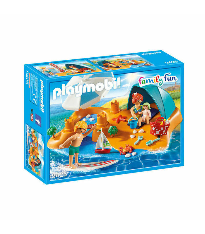 9425 Playmobil Family On The Beach Toy Store Articles Created Handbook