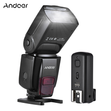 CZ RU המניה Andoer AD560 IV 2.4G אלחוטי על מצלמה Slave Speedlite פלאש אור GN50 + טריגר עבור canon Nikon Sony DSLR מצלמות