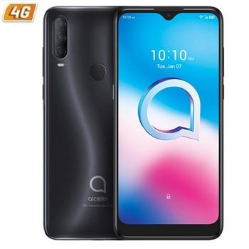 Перейти на Алиэкспресс и купить Alcatel 3l 2020 Темный Хром мобильный телефон-6,22 '/15,79 см hd + - oc - 4 Гб ram - 64 Гб-cam (48 + 5 + 2)/8mpx - android 10-4g-