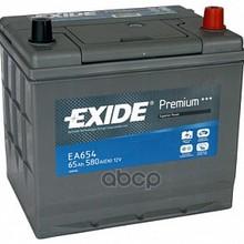 Аккумулятор Premium 12v 65ah 580a 230х170х225 Полярность Etn0 Клемы En Крепление B0 EXIDE арт. EA654
