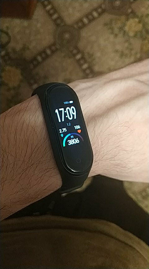 Fitness bracelet Xiaomi Mi Band 4 waterproof touch AMOLED screen Android, iOS sleep monitoring, calories, fiz. Activity Smart Wristbands    - AliExpress